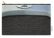 1952 Aston Martin Db2 Grille Emblem Carry-all Pouch