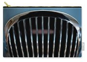 1952 Jaguar Hood Ornament And Grille Carry-all Pouch