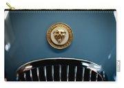 1952 Jaguar Hood Ornament Carry-all Pouch by Sebastian Musial