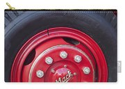 1952 L Model Mack Pumper Fire Truck Wheel 2 Carry-all Pouch