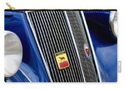 1952 Lancia Ardea 4th Series Berlina Grille Emblems Carry-all Pouch