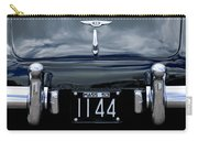 1953 Bentley Rear View License Plate Carry-all Pouch