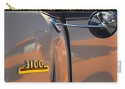 1953 Chevrolet 3100 Pickup Emblem Carry-all Pouch