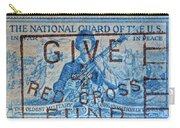1953 The National Guard Of The U. S. Stamp Carry-all Pouch