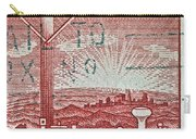 1954 Centenary Of Australian Telegraph Stamp Carry-all Pouch