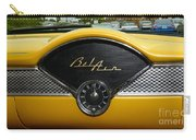 1955 Chevy Belair Clock Carry-all Pouch