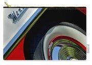 1956 Mercury Montclair Wheel Emblem Carry-all Pouch