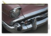 1957 Coral Chevy Bel Air Carry-all Pouch