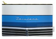 1957 Ford Fairlane Grille Emblem Carry-all Pouch