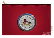 1957 Red Corvette Emblem Carry-all Pouch