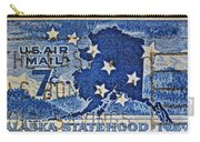 1959 Alaska Statehood Stamp Carry-all Pouch