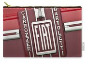 1959 Fiat Tipo 682 Rn-2 Transporter Emblem Carry-all Pouch