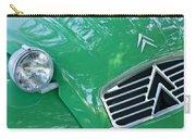 1961 Citroen 2cv Landaulet Hood Emblem Carry-all Pouch