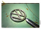 1961 Green Vw Carry-all Pouch