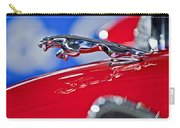 1961 Jaguar Kougar Hood Ornament 2 Carry-all Pouch