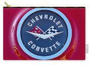 1962 Chevrolet Corvette Emblem Carry-all Pouch