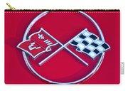 1962 Chevrolet Corvette Hood Emblem 2 Carry-all Pouch