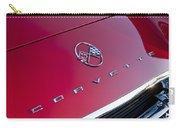 1962 Chevrolet Corvette Hood Emblem 3 Carry-all Pouch