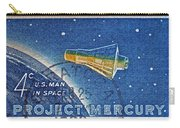 1962 Man In Space Stamp Carry-all Pouch