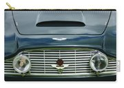 1963 Aston Martin Db4 Series V Vantage Gt Grille Carry-all Pouch by Jill Reger
