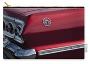 1963 Chevrolet Impala Ss Taillight Carry-all Pouch