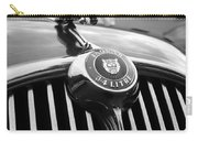 1963 Jaguar Front Grill In Balck And White Carry-all Pouch