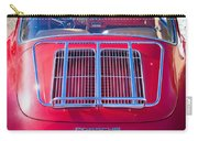 1963 Red Porsche 356b Super 90 Back End Carry-all Pouch