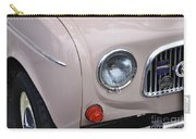 1963 Renault R4 - Headlight And Grill Carry-all Pouch by Kaye Menner