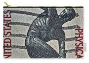 1965 Physical Fitness Stamp Carry-all Pouch