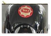1966 Bsa 650 A-65 Spitfire Lightning Clubman Motorcycle Carry-all Pouch by Jill Reger