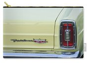 1966 Ford Fairlane Xl Taillight Emblem Carry-all Pouch