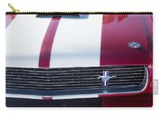 1966 Red Ford Mustang Shelby Gt350 Front Carry-all Pouch