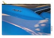 1967 Chevrolet Corvette 427 Hood Emblem Carry-all Pouch