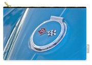 1967 Chevrolet Corvette Rear Emblem Carry-all Pouch