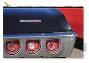 1968 Chevrolet Impala Ss Taillight Emblem Carry-all Pouch