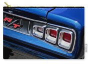 1968 Dodge Coronet Rt Hemi Convertible Taillight Emblem Carry-all Pouch