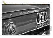 1968 Ford Mustang Gt B/w Carry-all Pouch