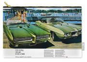 1969 Pontiac Gto And Firebird Carry-all Pouch