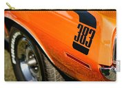 1970 Plymouth Cuda Barracuda 383 Carry-all Pouch