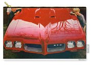 1970 Pontiac Gto - The Quick Way Out Of The Little Leagues. Carry-all Pouch