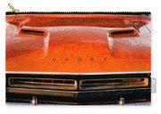 1971 Dodge Challenger - Orange Mopar Typography - Mp002 Carry-all Pouch