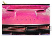 1971 Dodge Challenger - Pink Mopar Typography Carry-all Pouch