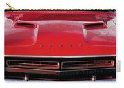 1971 Dodge Challenger - Red Mopar Typography Carry-all Pouch