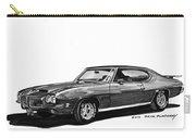 1971 Pontiac G T O Carry-all Pouch