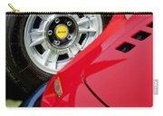 1973 Ferrari 246 Gts Dino Emblem 5 Carry-all Pouch