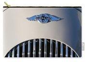 1977 Morgan Plus 4 Hood Emblem Carry-all Pouch