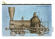 19th Century Locomotive Carry-all Pouch