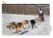 2010 Limited North American Sled Dog Race Carry-all Pouch