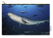 A Large 10 Foot Tiger Shark Swims Carry-all Pouch