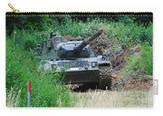 A Leopard 1a5 Mbt Of The Belgian Army Carry-all Pouch